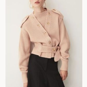 ISO H&M Studio Collection Knit Wool-Blend Cardigan